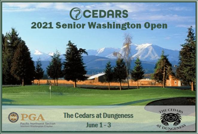 7 Cedars Casino Senior Washington Open @ The Cedars at Dungeness | Sequim | Washington | United States