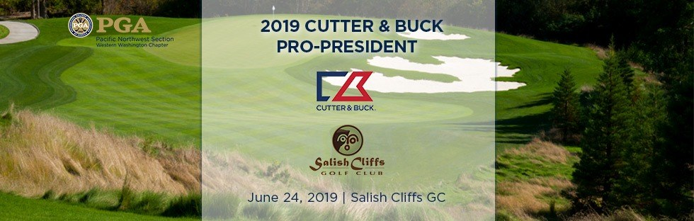 Cutter & Buck Pro-President @ Salish Cliffs GC | Shelton | Washington | United States