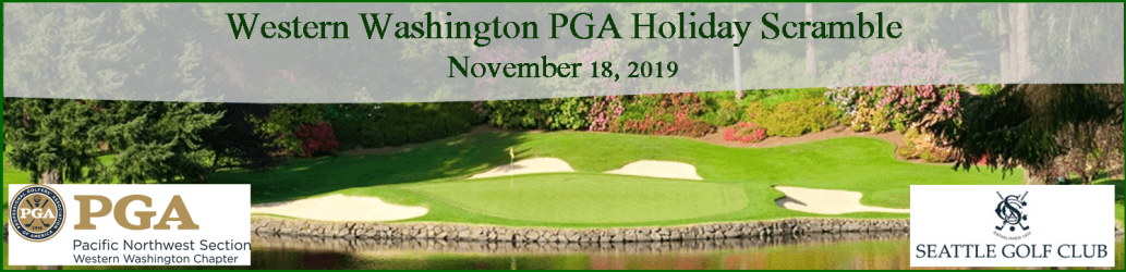 2019 WWC PGA Holiday Scramble & Awards Dinner @ Seattle GC | Shoreline | Washington | United States