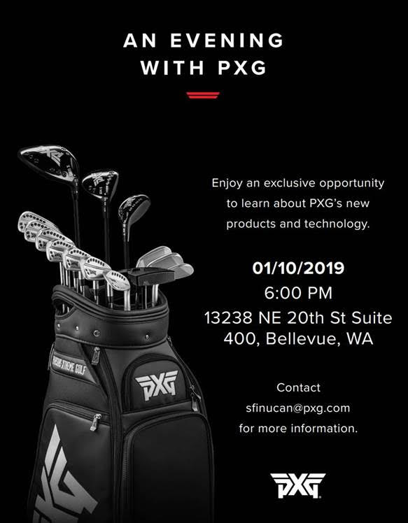 An Evening with PXG @ PXG Seattle Headquarters (Bellevue) | Bellevue | Washington | United States